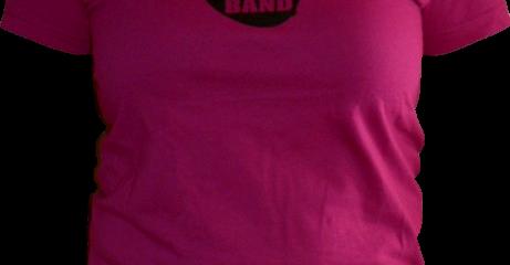T-shirt fushia pour femme