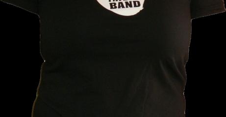 T-shirt noir pour femme